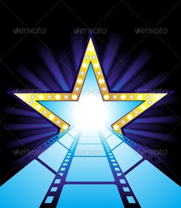 Road to Hollywood - Backgrounds Decorative