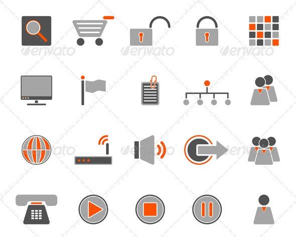 Communcation Icon Set