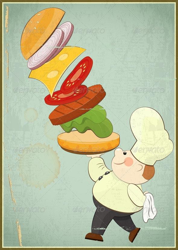 Big Burger - Food Objects