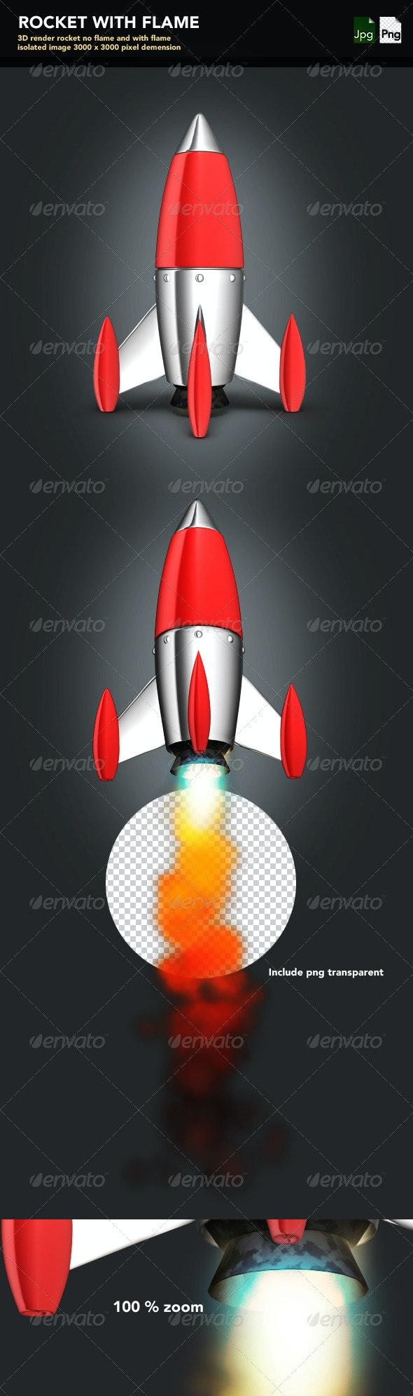 Rocket  - Objects 3D Renders