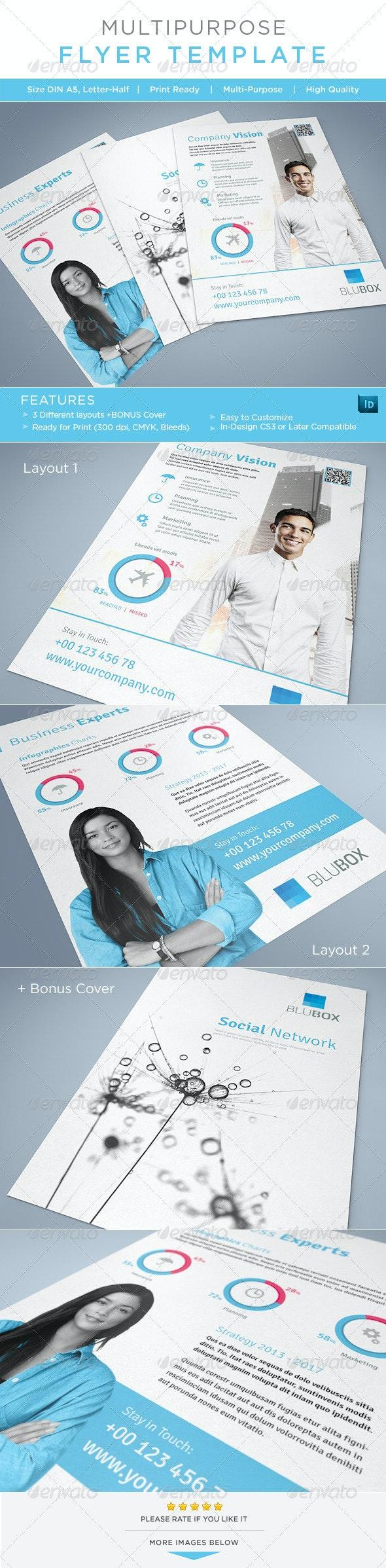 Multipurpose Flyer / AD Template - Corporate Flyers