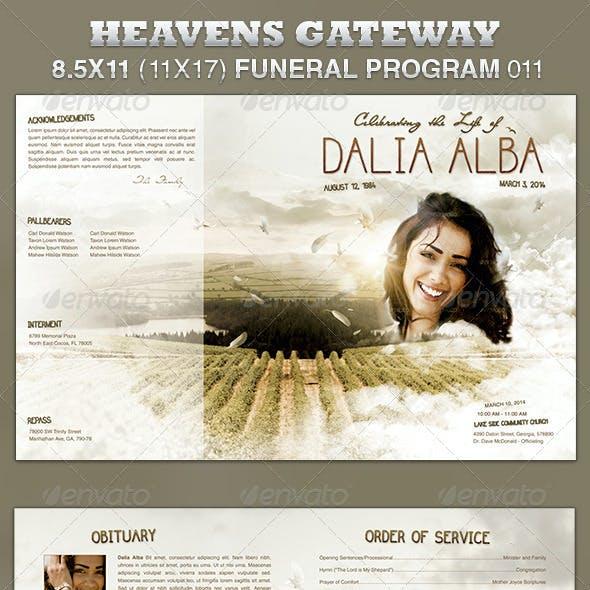 Heavens Gateway Funeral Program Template 011
