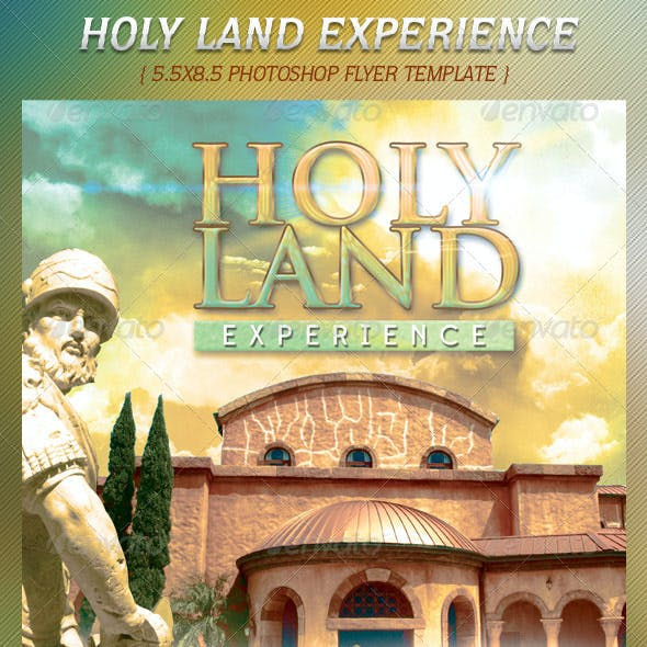 Holy Land Experience Flyer Template