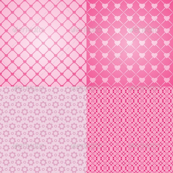Love Pattern - Patterns Decorative
