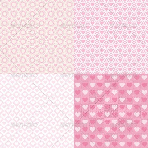 Pattern Romantic - Patterns Decorative