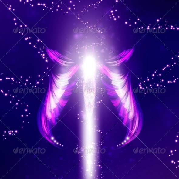 Angel  - Abstract Conceptual