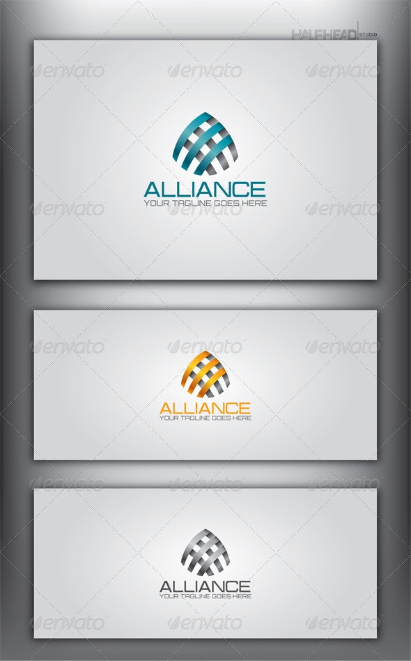 Alliance Logo Template - Letters Logo Templates