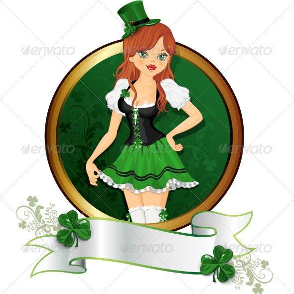 Girl  St. Patrick's Day