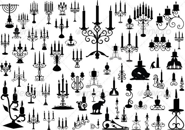 Candlesticks  - Man-made Objects Objects