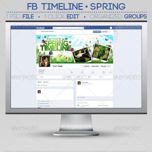 FB Timeline Cover | Spring