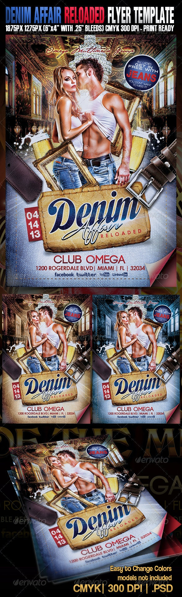 Denim Affair Reloaded - Clubs & Parties Events