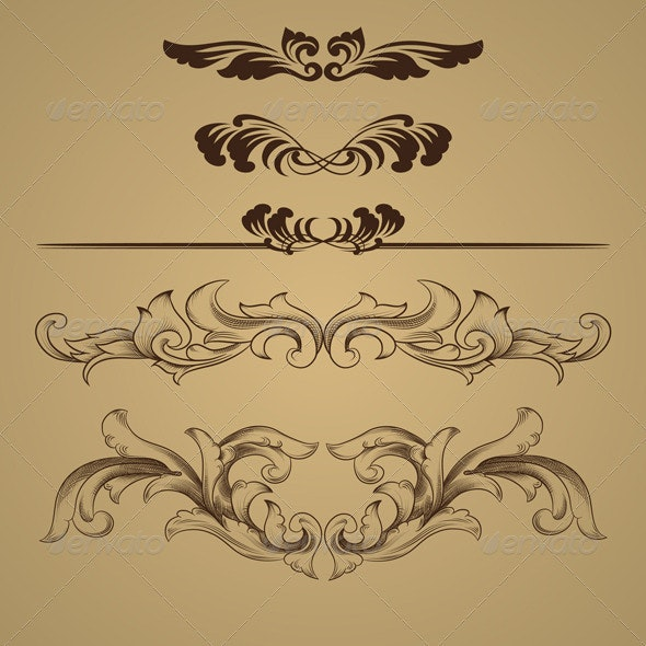 Ornament Skect - Backgrounds Decorative