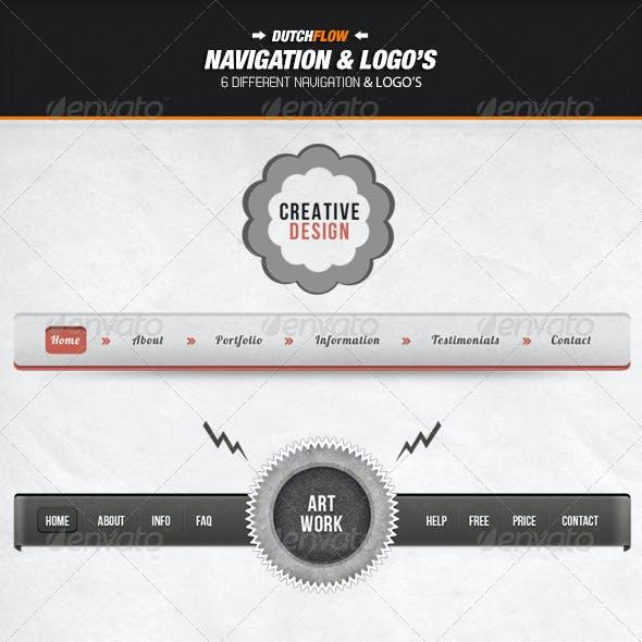 Navigation & Logo