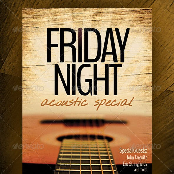 Friday Night Acoustic Special