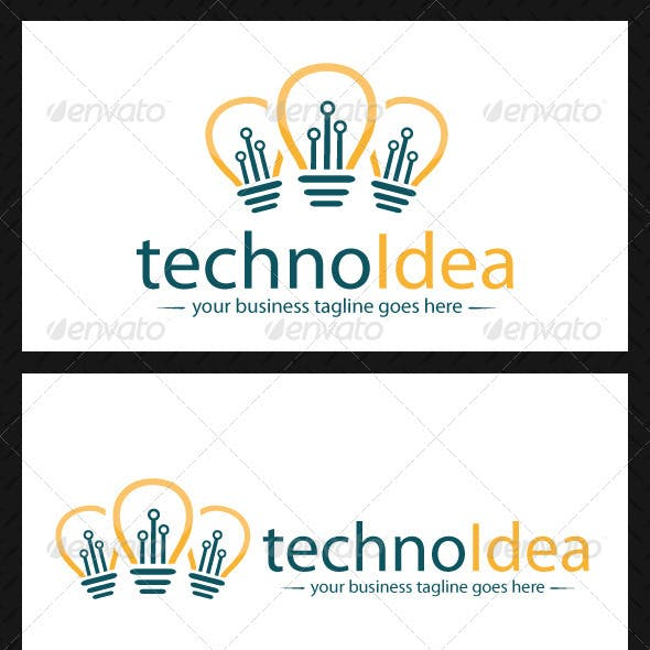 Idea Tech Logo Template