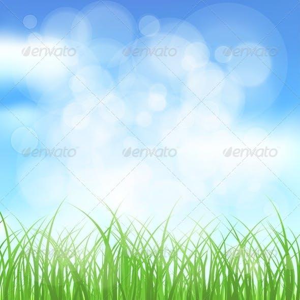 Natural Spring Background