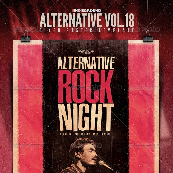 Alternative Flyer/Poster Vol. 18