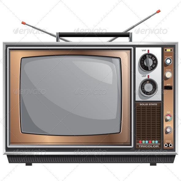1970's Vintage Television
