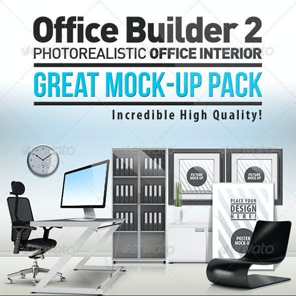 Office Builder 2 - Great Mockup Pack