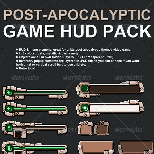 Metallic Game Assets From Graphicriver