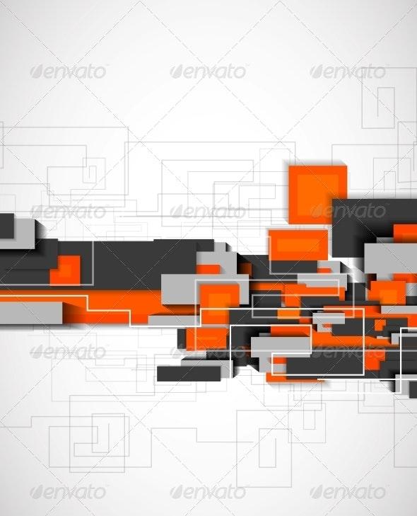 Blocks geometrical modern template - Backgrounds Decorative