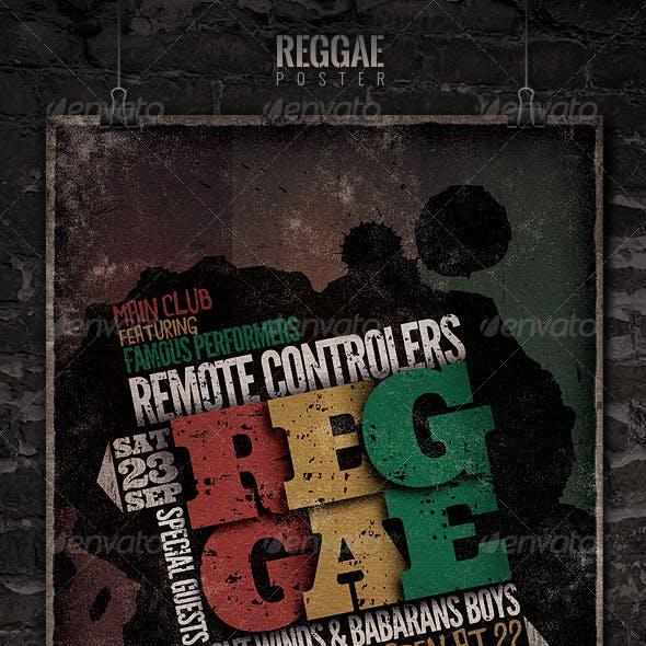 Reggae - Flyer/Poster Template
