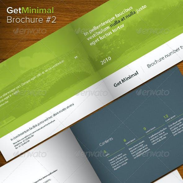 Get Minimal - Brochure 02