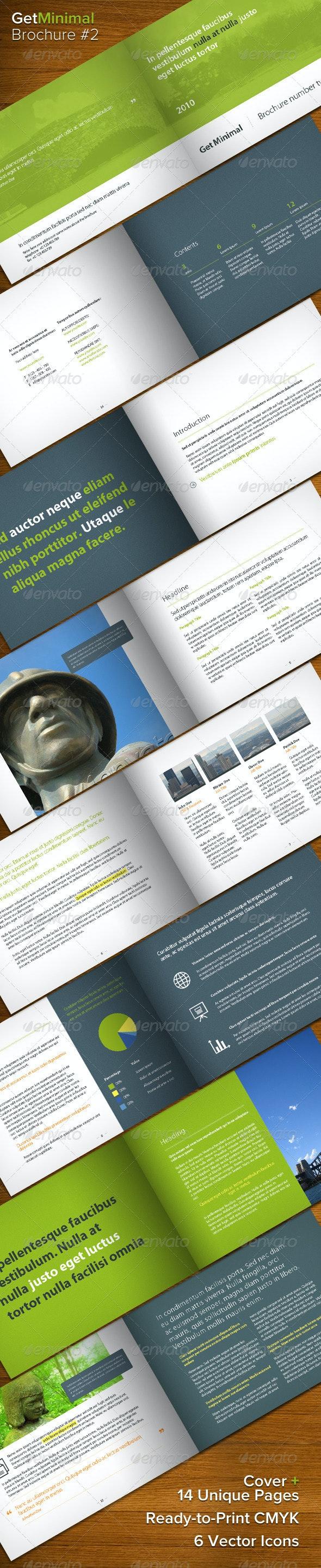 Get Minimal - Brochure 02 - Corporate Brochures