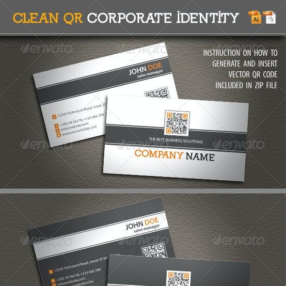 Clean QR Corporate Identity