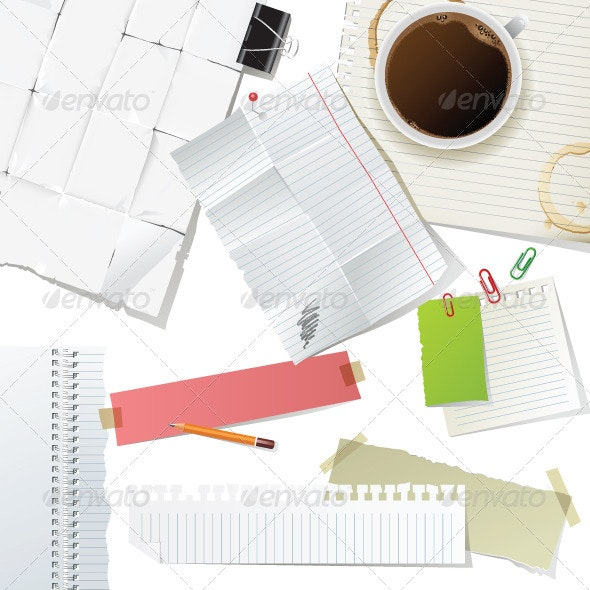 Work Place - Backgrounds Decorative