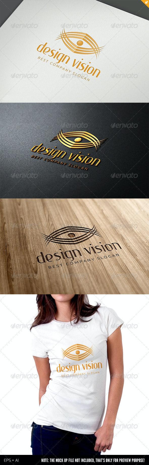 Media Design Vision Logo - Humans Logo Templates