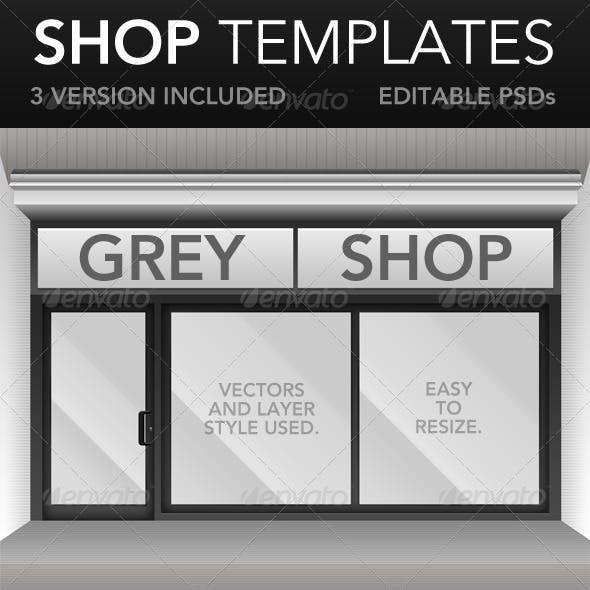 Shop Window Templates