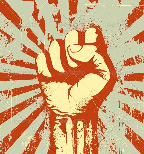 Fist Held - Conceptual Vectors