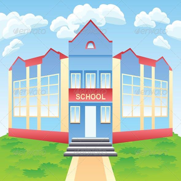 Vector Modern School  Building
