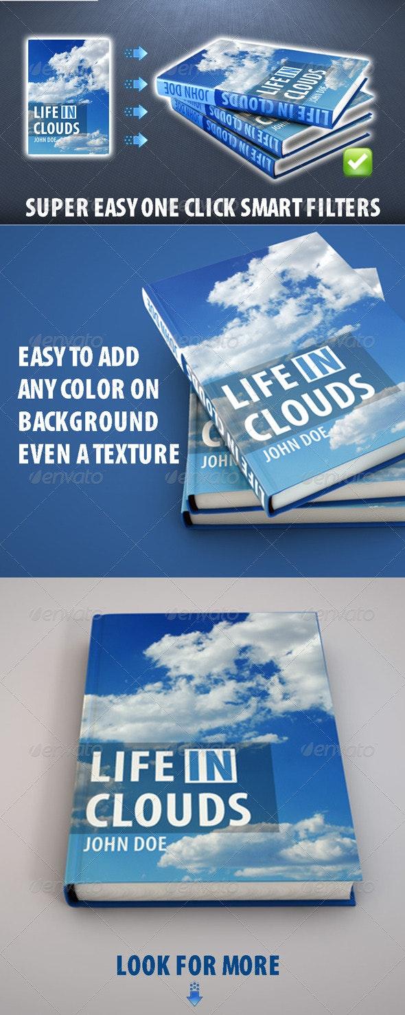 Hi-Res Book Cover Mockup - Books Print