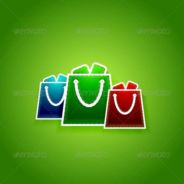 Go shopping concept. Vector EPS10 illustration - Web Elements Vectors