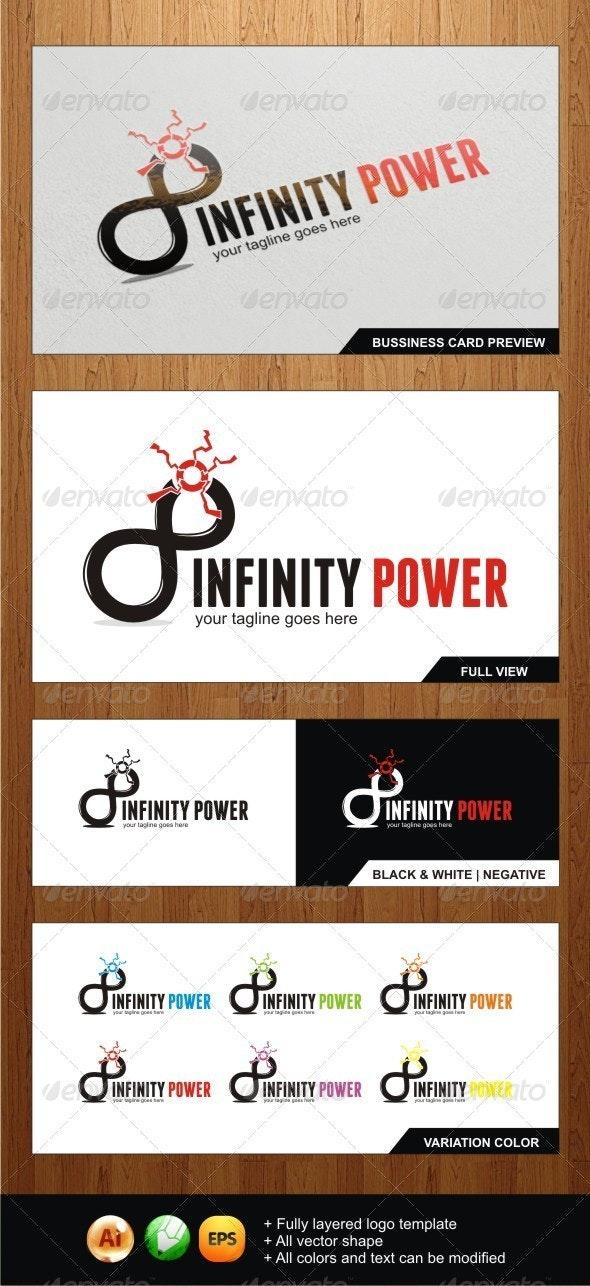 Infinity Power logo - Symbols Logo Templates