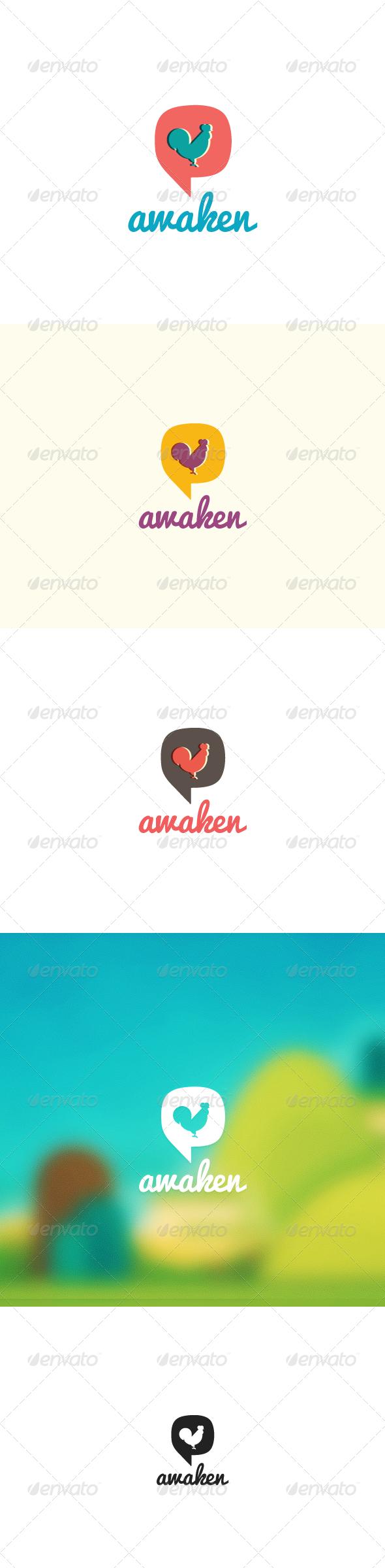 Awaken Logo - Animals Logo Templates
