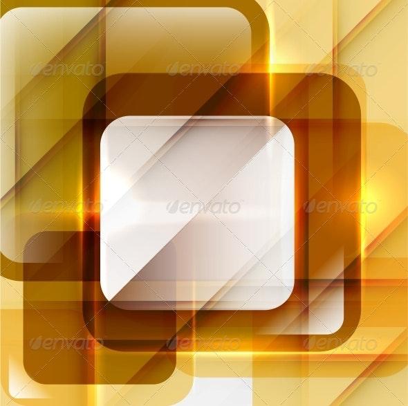 Orange Modern Geometric Abstract Background - Backgrounds Decorative