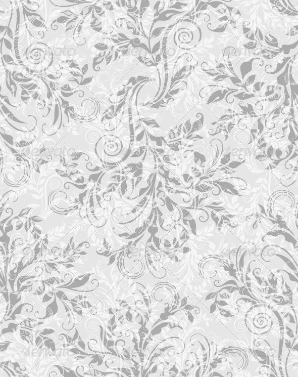 Elegant Decorative Floral Seamless Pattern - Patterns Decorative