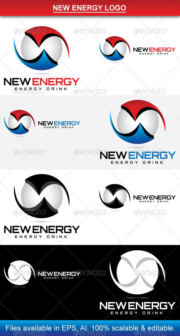 New Energy Logo - Vector Abstract