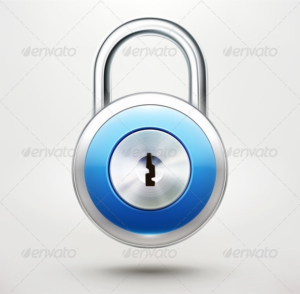 Security Concept - Objects Vectors