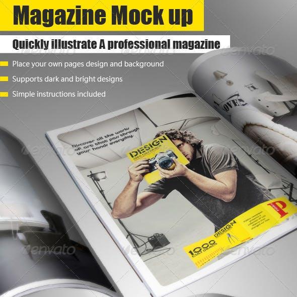 Magazine Mock Up Tool