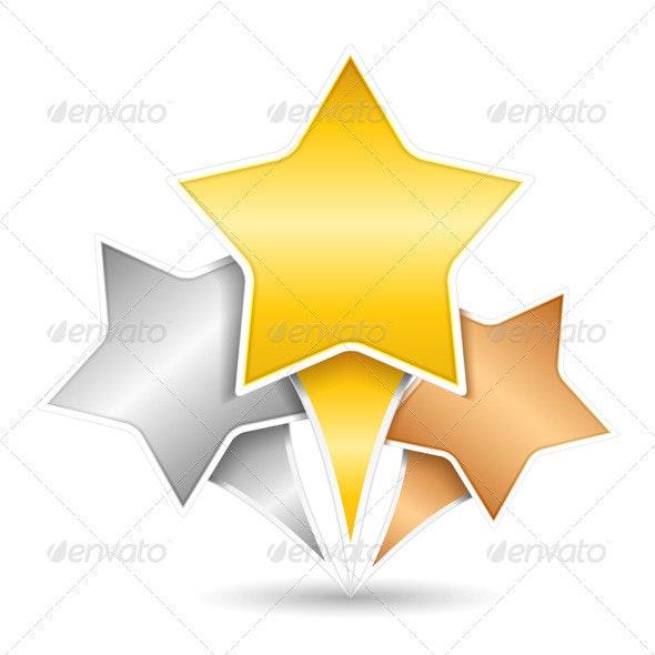 Stars - Web Elements Vectors