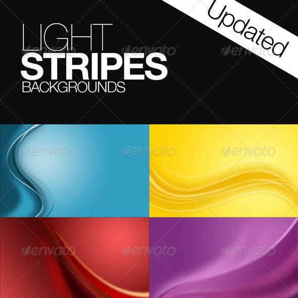 Light Stripes Background