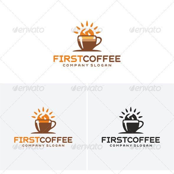 First Coffee Logo