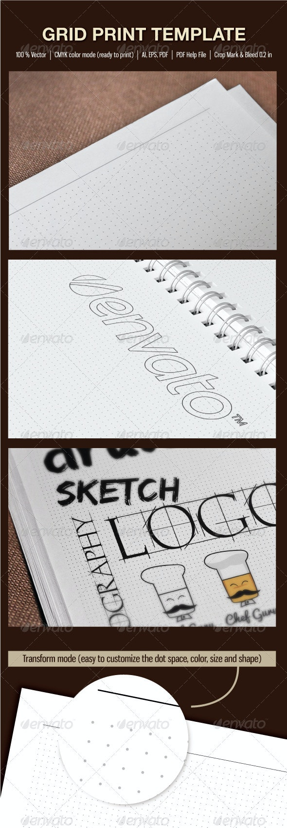 Grid Print Template - Print Templates