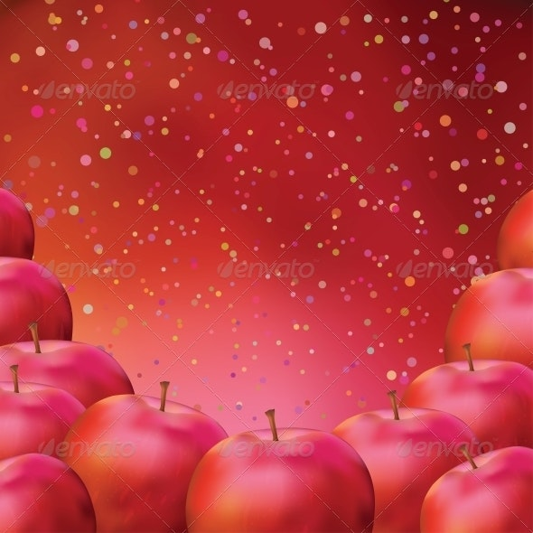 Apple, background - Food Objects