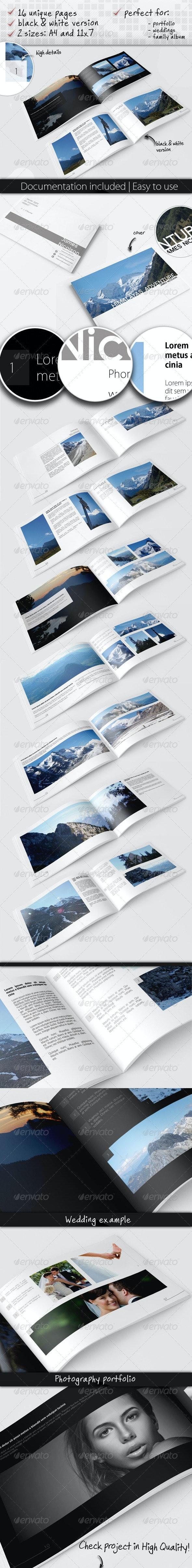 Universal Album - Photo Albums Print Templates