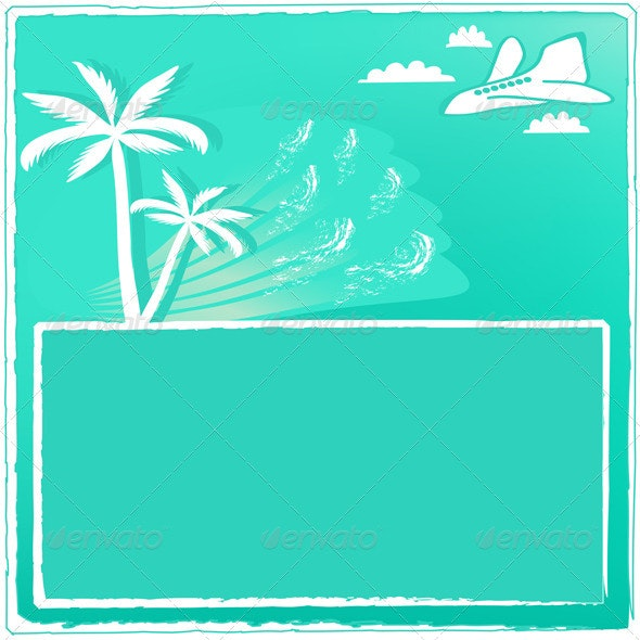 Summer Resort Card - Backgrounds Decorative